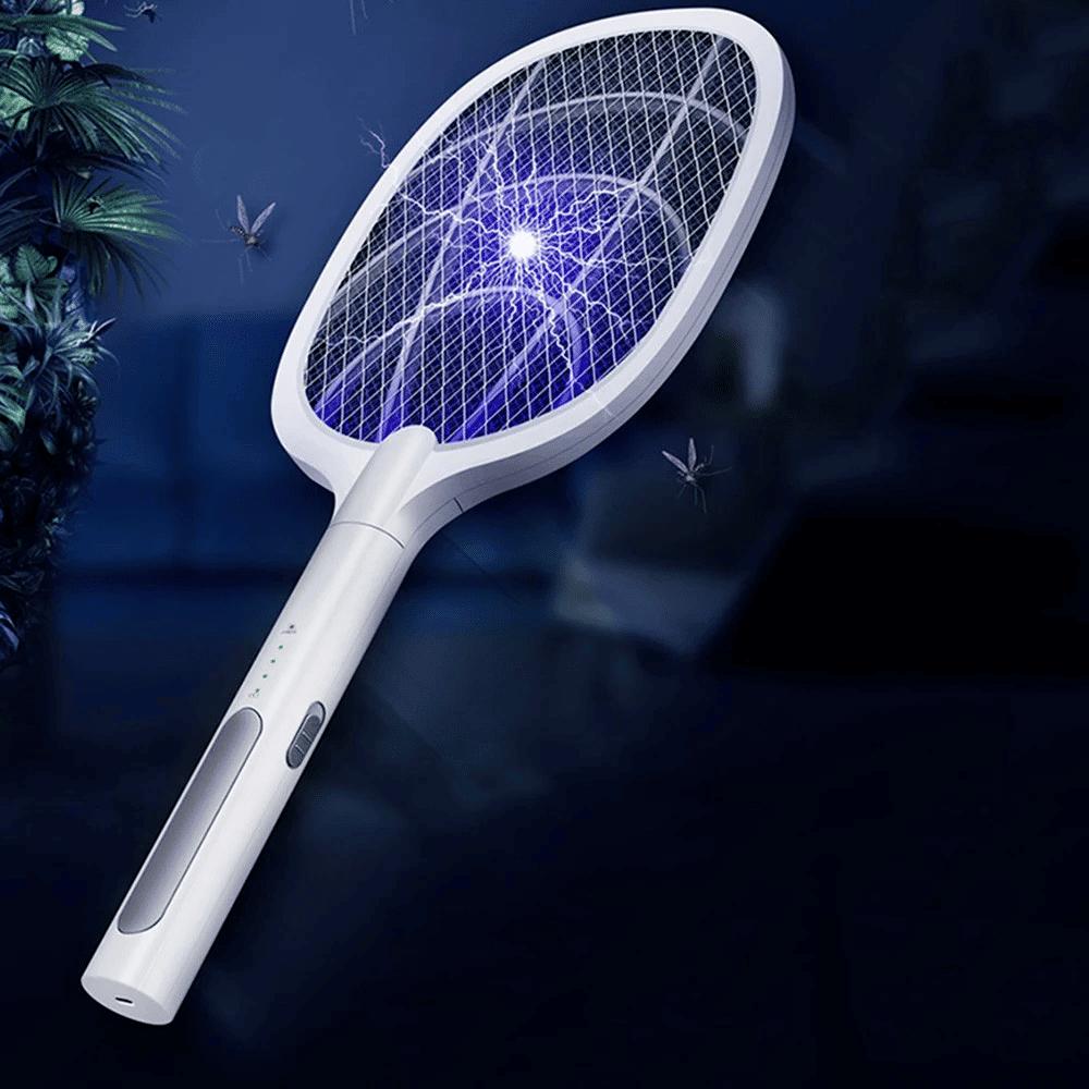 Raquette a main a piles Tapette a moustique electrique Tueur de moustiques an OU